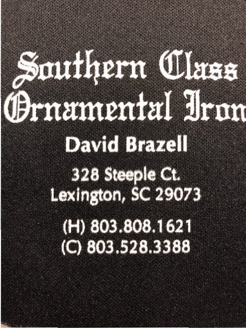 Southern Class Ornamental Iron