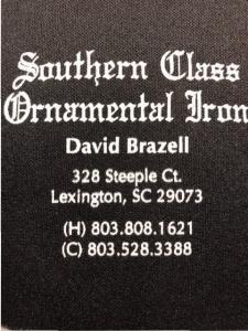 Southern Class Ornametal Iron
